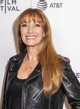 Tribeca TV: Indie Pilots. New York, NY, USA - April 23, 2018: Jane Seymour attends the screening of `Oversharing` at Tribeca TV: Indie Pilots during the 2018 stock photography
