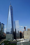New York, NY, USA - August 15, 2015: World Trade Center 1, 9/11 Memorial and Museum, August 15, 2015 Royalty Free Stock Image