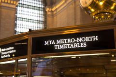 NEW YORK, NY USA - MAY 29, 2016. Grand Central Terminal. Stock Image