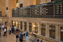 NEW YORK, NY USA - MAY 29, 2016. Grand Central Terminal. Stock Images