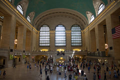 NEW YORK, NY USA - MAY 29, 2016. Grand Central Terminal. Royalty Free Stock Photo