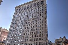 Flatiron building in Union square, New York royalty free stock photo
