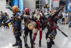 ComicCon NYC 2018 stock photography