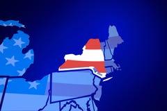New York NY USA United States America Flag Royalty Free Stock Images