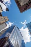 New York oben schauen Lizenzfreies Stockbild