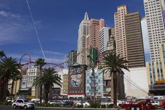 New York oder Las Vegas? Lizenzfreies Stockfoto