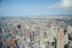 New york from one world tower Royalty Free Stock Photography