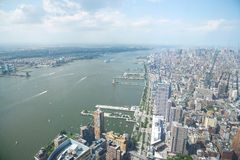 New york from one world tower Royalty Free Stock Image