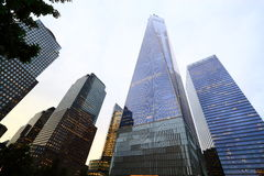 New York One World Trade Center. One World Trade Center, Freedom Tower in New York, United States Royalty Free Stock Photography