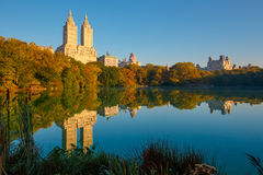 New York outdoors. Fall autumn Stock Photography