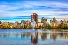 New York New York på Central Park arkivbild
