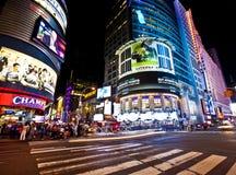 New York på nätterna Royaltyfria Bilder