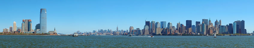 New york panorama Royalty Free Stock Photos