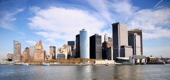 New York panorama Royalty Free Stock Photo