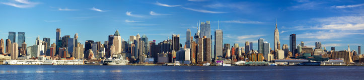 New York panorama Royalty Free Stock Image