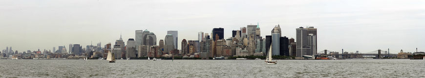 New York Panorama. 2010. Skyline Stock Photography