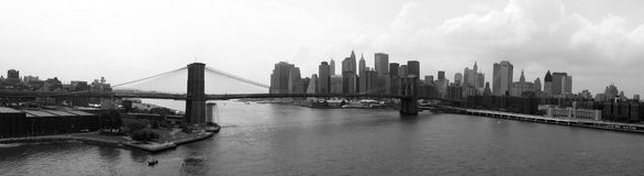 New york panorama Stock Images