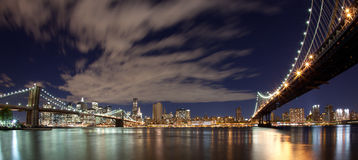 New York Panoramic Royalty Free Stock Photography