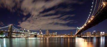 New York panoramique photographie stock libre de droits