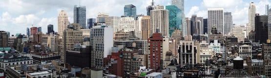 New York panoramique Photographie stock