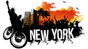 New York Party Royalty Free Stock Images