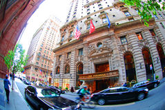 New York - Peninsula Hotel Royalty Free Stock Images