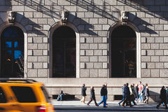 New york people Royalty Free Stock Photography