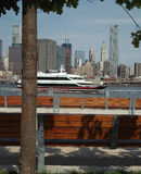 Pier One View of Manhattan New York USA Stock Photos