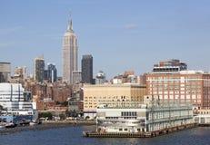 New York Piers Royalty Free Stock Image