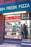 New York Pizza Royalty Free Stock Images