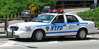 New York Police Department. Vehicle Royalty Free Stock Photography