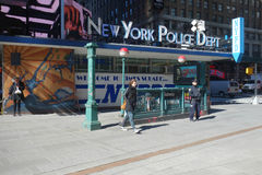 New York Police Department Stock Photography