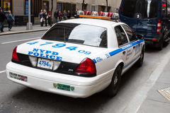 NYPD Patrol Vehicle Royalty Free Stock Images
