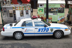 New York Police Patrol Vehicle Royalty Free Stock Photo