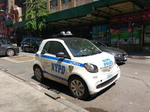 NYPD Smart Car, NYC, NY, USA Stock Photos