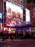 New York Police department station at Times Square, New York, USA Stock Photo
