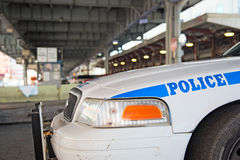 New York Police patrols the town Royalty Free Stock Image