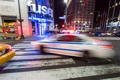 New York polissvar Arkivfoto
