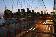 New York, ponte di Brooklyn Fotografia Stock Libera da Diritti