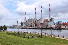 New York power plant Stock Photography