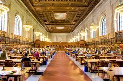 New York Public Library Stock Photos