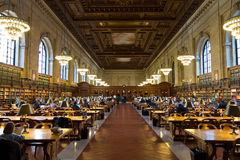 The New York Public Library Stock Photos