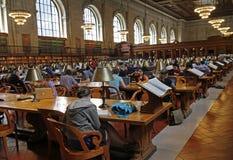 New York Public Library Stock Photo