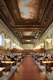 New York public library. Interior of the New York public library Stock Image