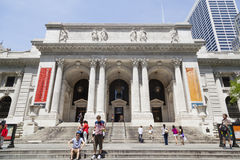New York Public Library, editorial Stock Image