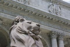 New York Public Library royalty free stock photo