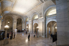 The New York Public Library Interior Royalty Free Stock Images
