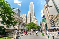 The New York Public Library Royalty Free Stock Photos