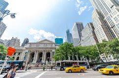 The New York Public Library Royalty Free Stock Images