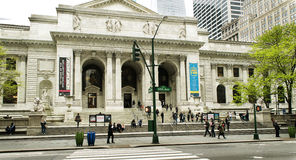 New York Public Library Main Branch Stock Photo